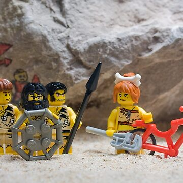 Inventing the wheel - Lego style by SadOldBiker