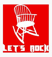 Let's Rock Photographic Print