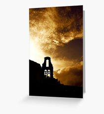 Corfu Skyline Greeting Card