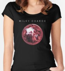 Milky Chance- Blossom Women's Fitted Scoop T-Shirt