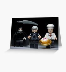 Lego Cake or Death ! Greeting Card