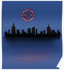 2016 chicago cubs world series winners Poster