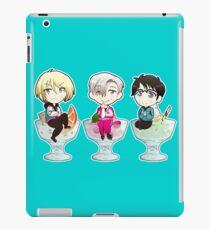 yuri on ice chibi iPad Case/Skin
