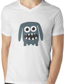 Monster Doggy II Mens V-Neck T-Shirt