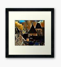 Saint-Vincent vieux village Framed Print