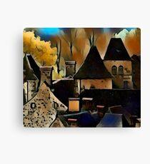 Saint-Vincent vieux village Canvas Print