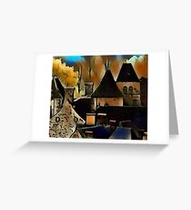 Saint-Vincent vieux village Greeting Card