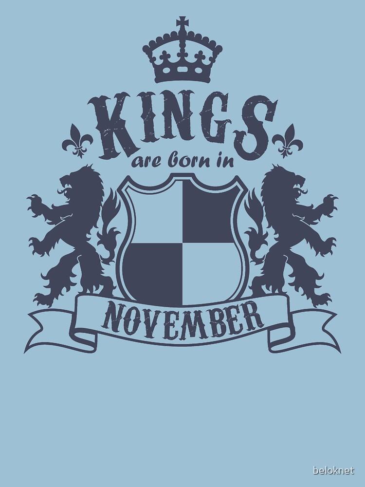 Kings are born in November by beloknet