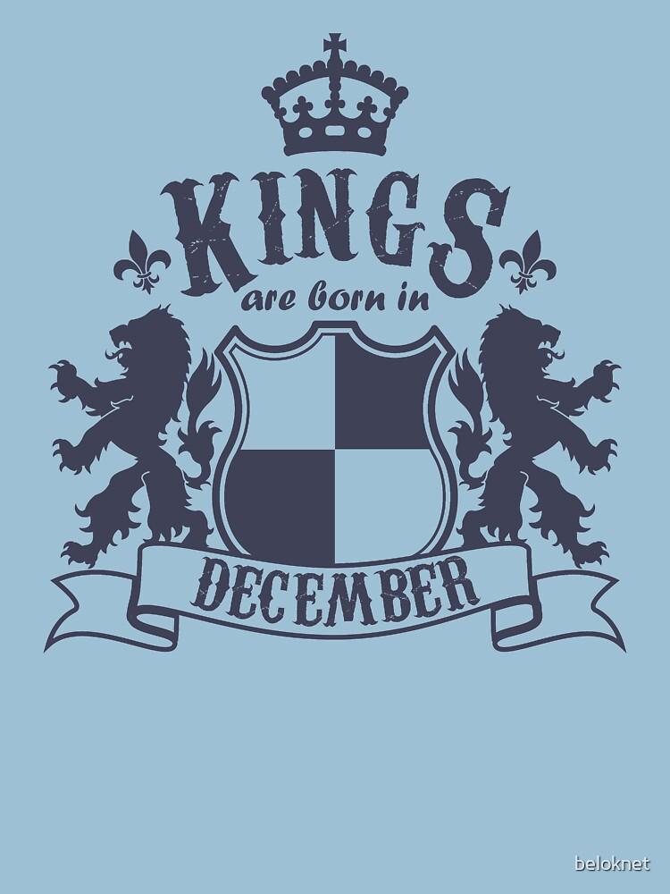 Kings are born in December by beloknet