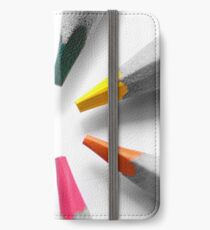 Colour my world iPhone Wallet/Case/Skin
