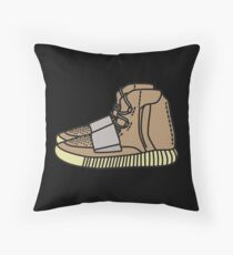yeezy boots 750 Throw Pillow
