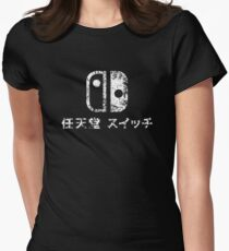 nintendo switch Womens Fitted T-Shirt