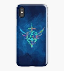 Skyward Sword Blue iPhone Case