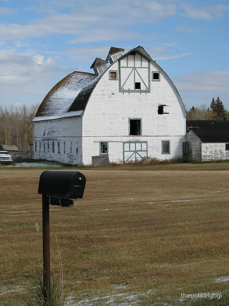 alberta barn by theunlikelyogi