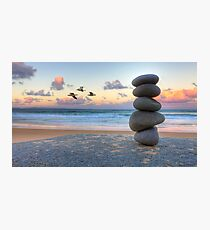 Granite Zen Photographic Print