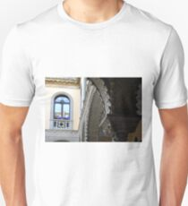 Spanish decorativefacade with  columns and arches T-Shirt