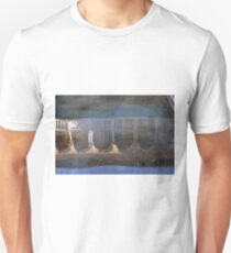 Building with arches and columns reflected in the water T-Shirt