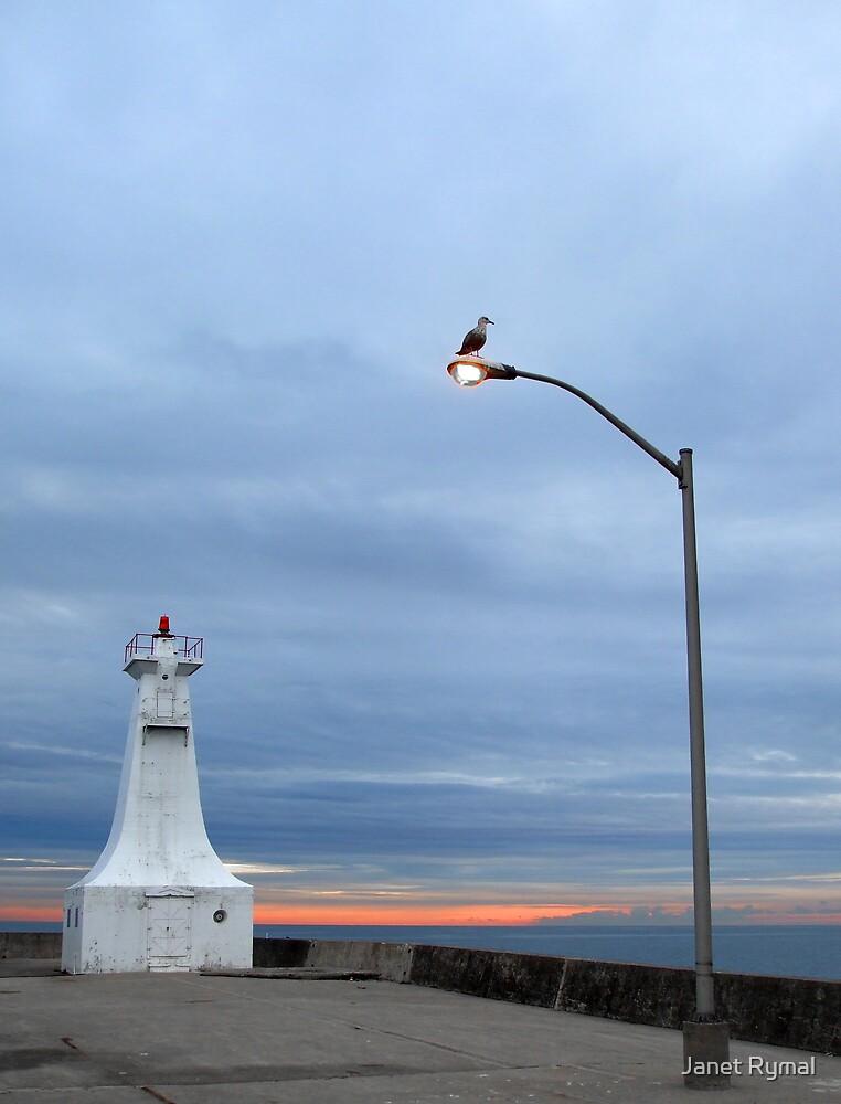 Lighthouse at Sunrise by Janet Rymal