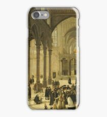 Cornelis Van Dalem - Church Interior With Christ Preaching To A Congregation, 1570 iPhone Case/Skin