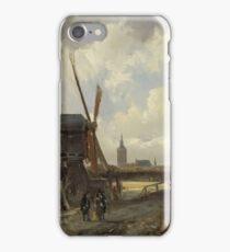 Cornelis Springer - View Of The Hague, 1852 iPhone Case/Skin