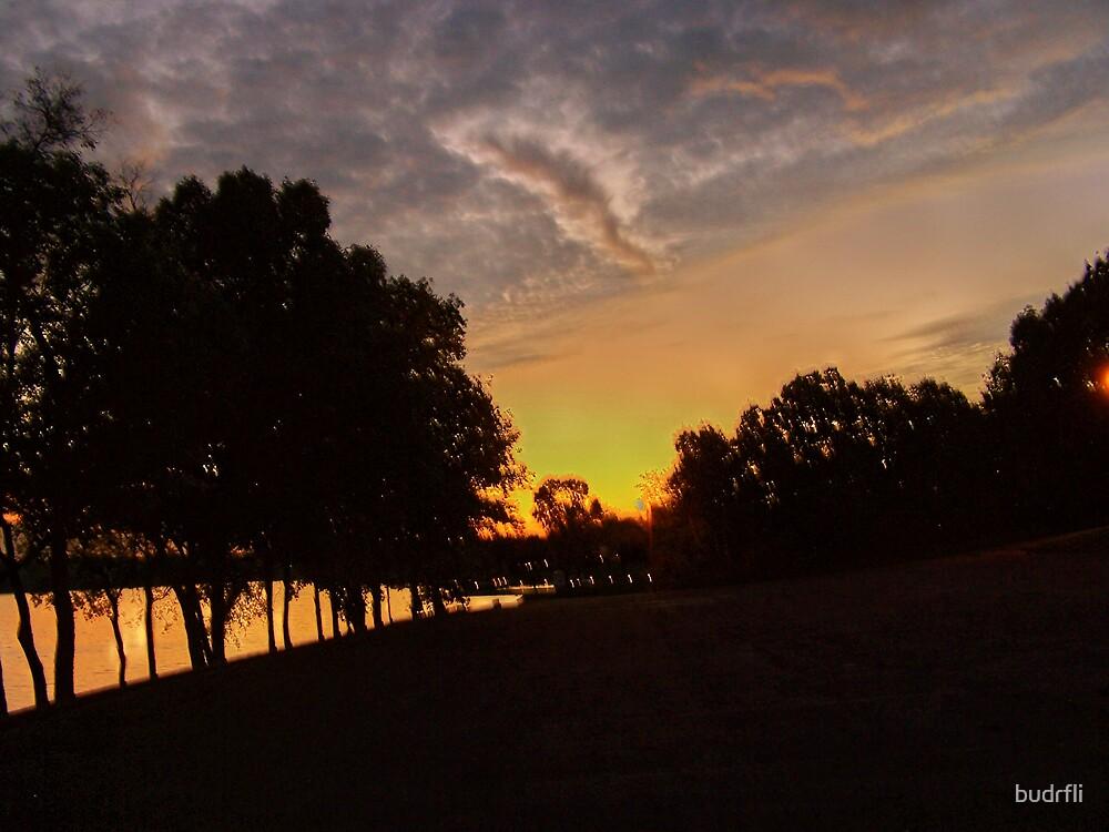 artsy sunset by budrfli