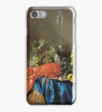 Cornelis De Heem - Still Life With Lobster 1655 iPhone Case/Skin