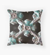 Ancient ornamental smithery Throw Pillow