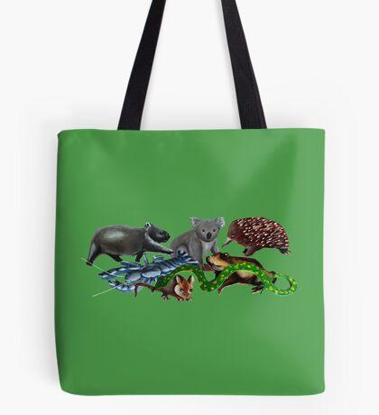 Australian animals collage Tote Bag
