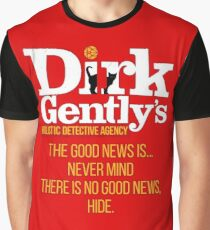 Dirk Gently - no good news Graphic T-Shirt