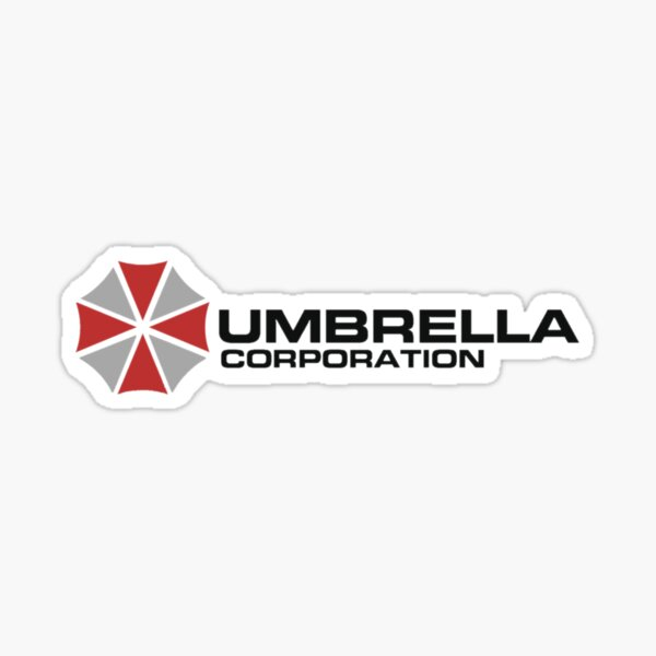 Umbrella Corporation, White, Resident Evil Sticker