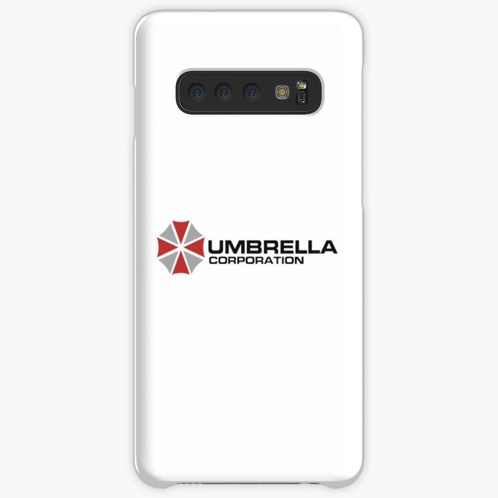 Umbrella Corporation, Weiß, Resident Evil Hülle & Klebefolie für Samsung Galaxy