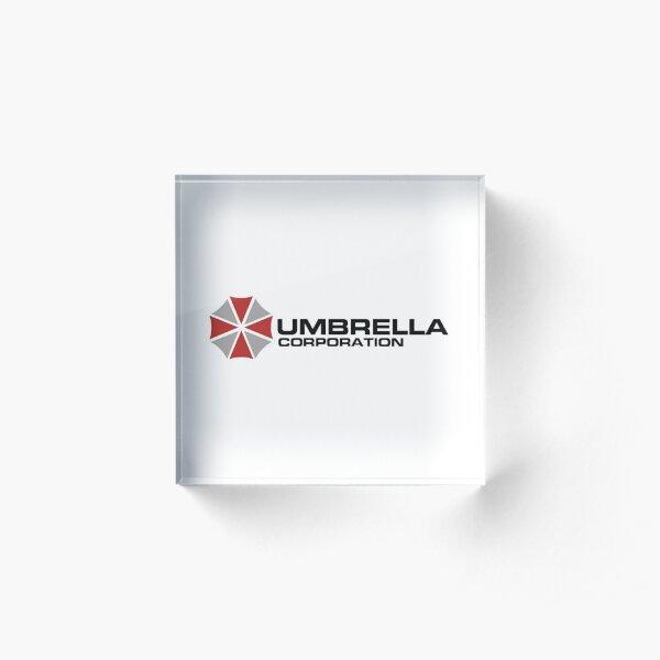 Umbrella Corporation, White, Resident Evil Acrylic Block
