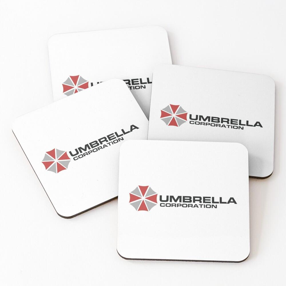 Umbrella Corporation, White, Resident Evil Posavasos (lote de 4)