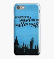 Castle on the hill - Ed Sheeran iPhone Case/Skin
