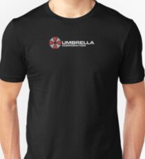 Umbrella Corporation, Black, Resident Evil Unisex T-Shirt