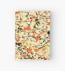 Pollock style Hardcover Journal