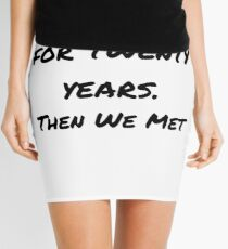 My Wife Joke Design Mini Skirt