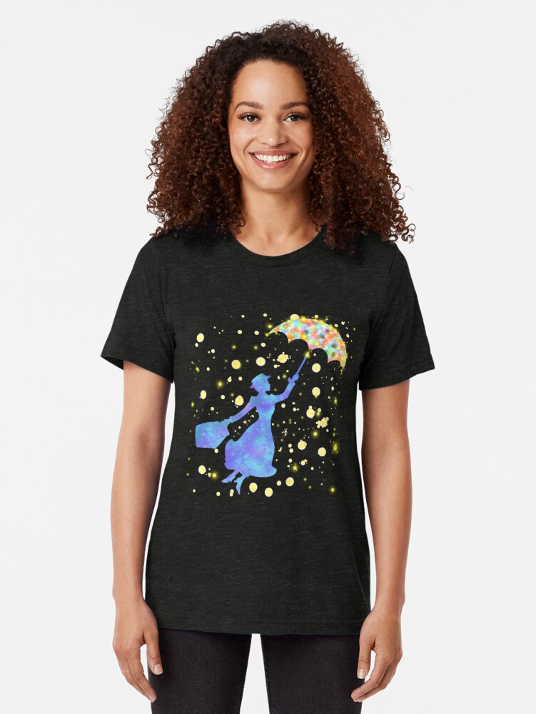 Alternative Ansicht von magische Mary Poppins Vintage T-Shirt