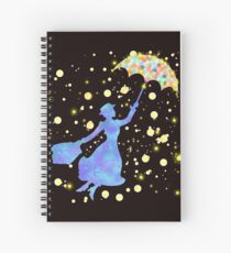 magical mary poppins Spiral Notebook