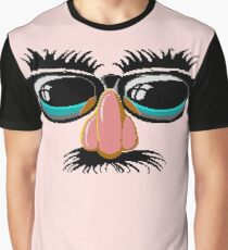 Zak Mckracken Disguise Graphic T-Shirt
