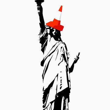 Lady Liberty by 256Adam