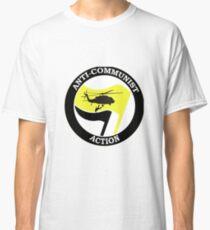 Anti-Communist Action Logo Classic T-Shirt