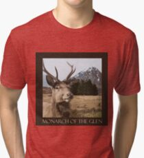 Monarch Of The Glen Tri-blend T-Shirt