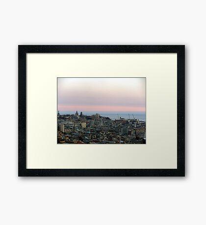 AfterSunset Framed Print