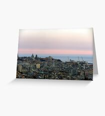 AfterSunset Greeting Card