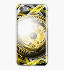 Wake the Bee, an Autobot Fractal Tribute to Bumblebee iPhone Case/Skin