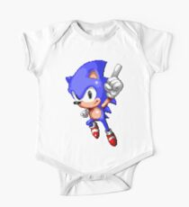 Sonic Pixel Art Kids Clothes