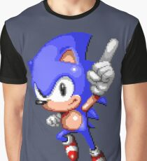 Sonic Pixel Art Graphic T-Shirt