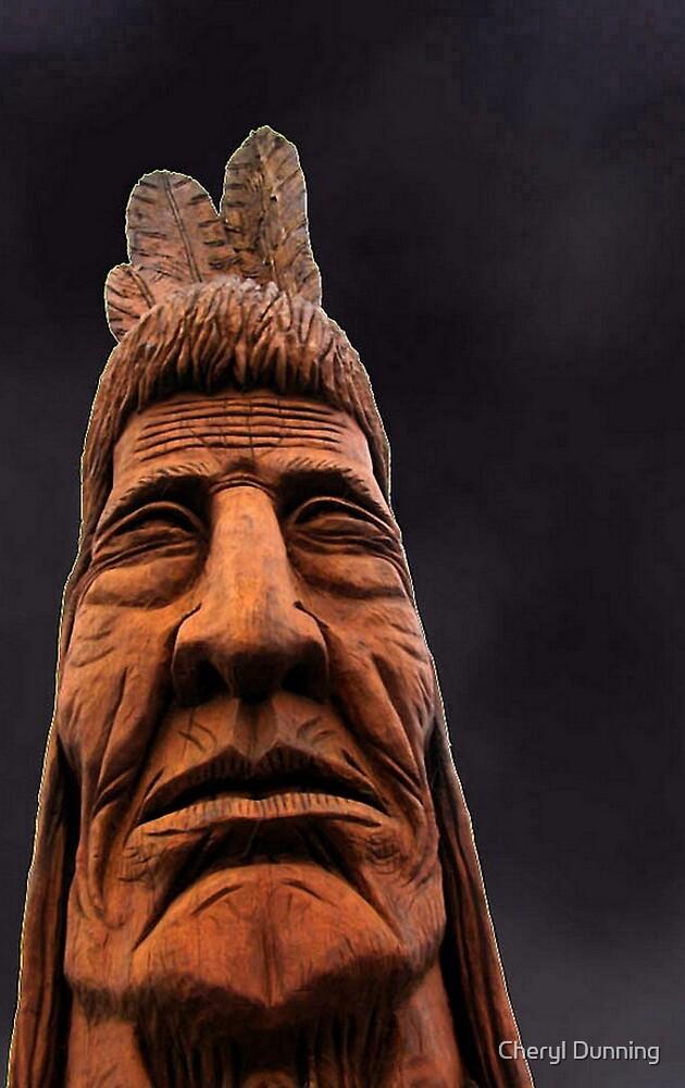 big chief!  by Cheryl Dunning