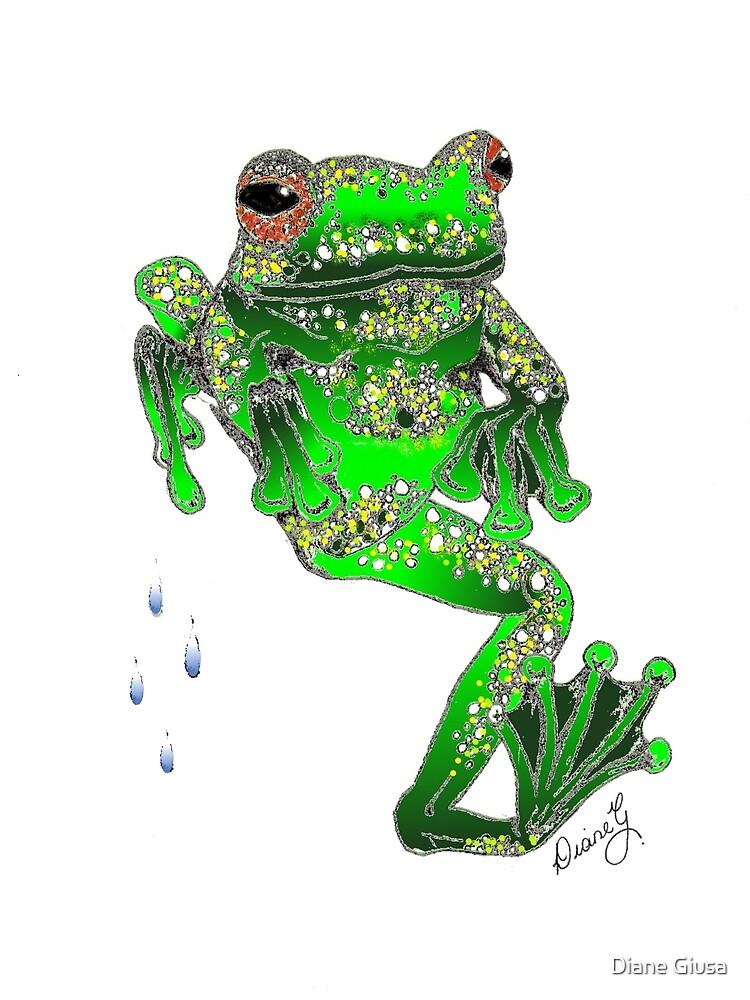 Dancing Frog by Diane Giusa
